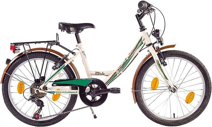 Schiano Bicicleta Chica Mujer Mirta 20 Pulgadas 7 Velocidades ...