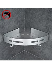 Gricol Bathroom Shower Shelf Triangle Wall.