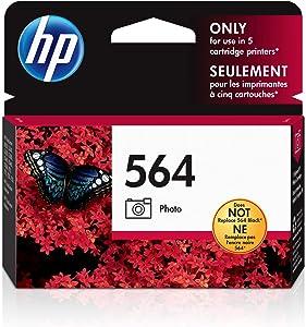 HP 564 | Ink Cartridge | Photo | CB317WN, Photo Black, Standard