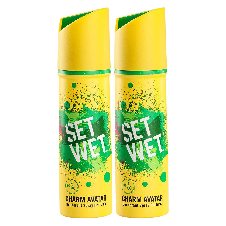 Set Wet Charm Avatar Deodorant (Pack of 2)