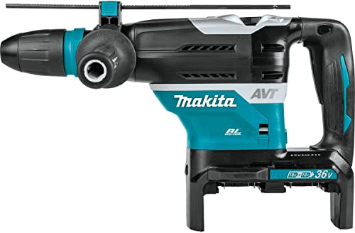 Makita XRH07ZKU 18V x2 LXT Lithium-Ion 36V Brushless Cordless 1-9 16 Advanced AVT Rotary Hammer, Accepts Sds-Max Bits, Aws, Tool Only