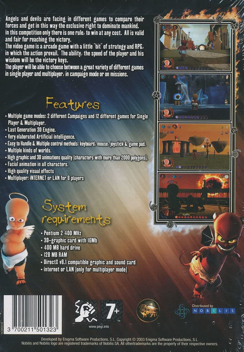 Amazon com: Angels Vs Devils (PC Game): Video Games