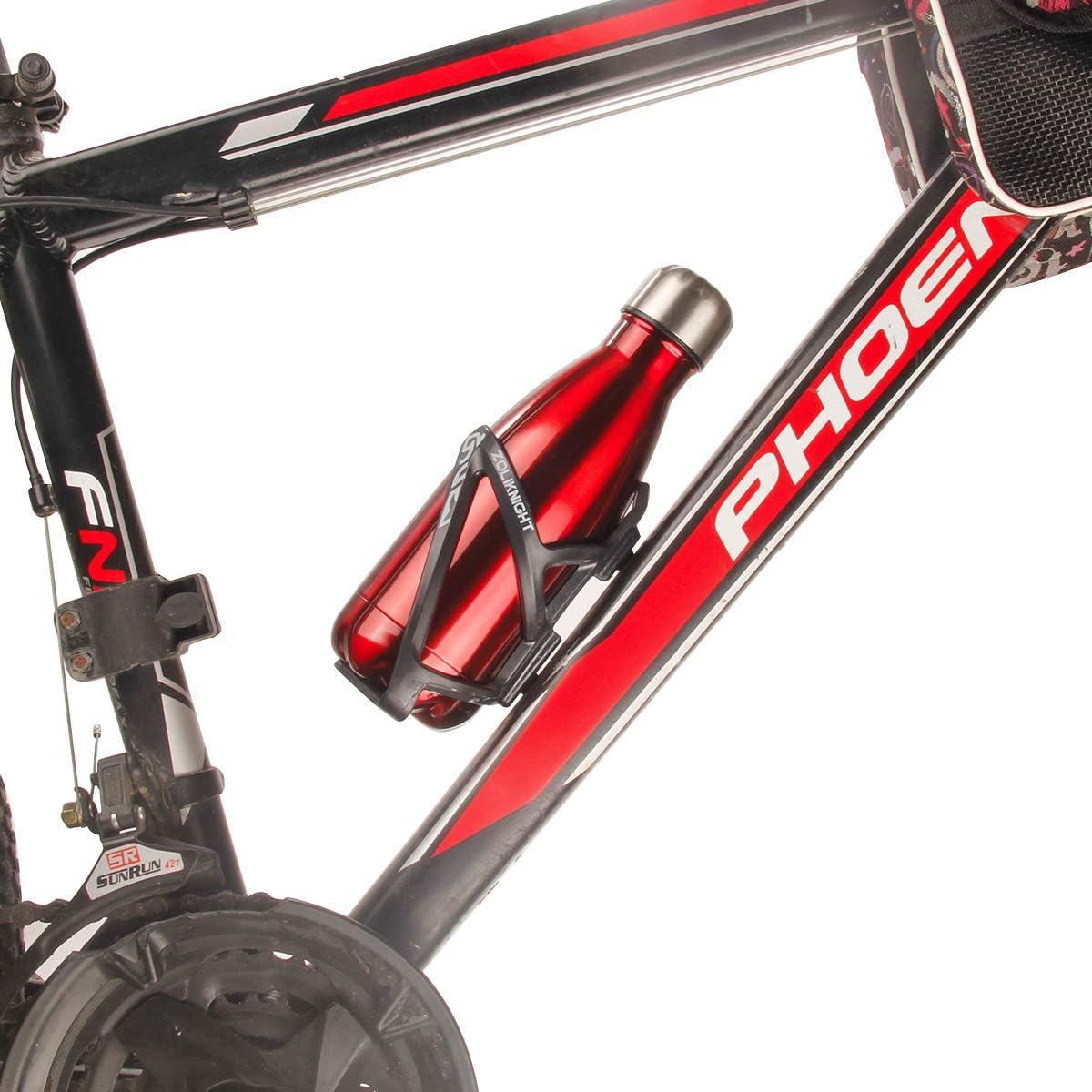 Sport Impermeabile e a Prova di perdite Fancytimes Borraccia Termica in Acciaio Inox con Isolamento sottovuoto Ideale per Scuola Campeggio Fitness Senza BPA Ciclismo