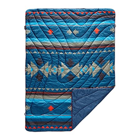Rumpl The Original Puffy l Printed Outdoor Camping Blanket for Traveling, Picnics, Beach Trips, Concerts