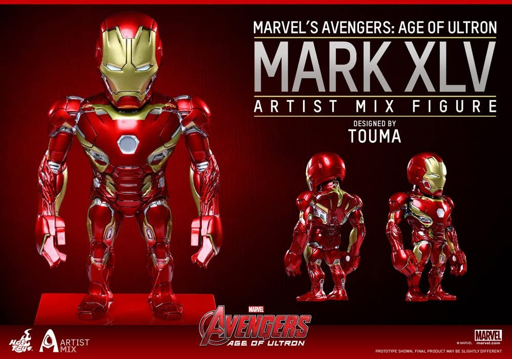 Hot Toys Iron Man Mark XLV The Avengers Age of Ultron Artist Mix Series 2 Touma