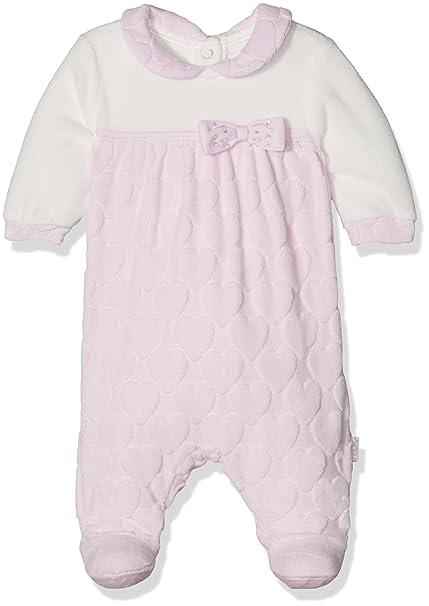 Chicco 9021493, Pelele para Bebés, (Bianco/Rosa), (Talla del