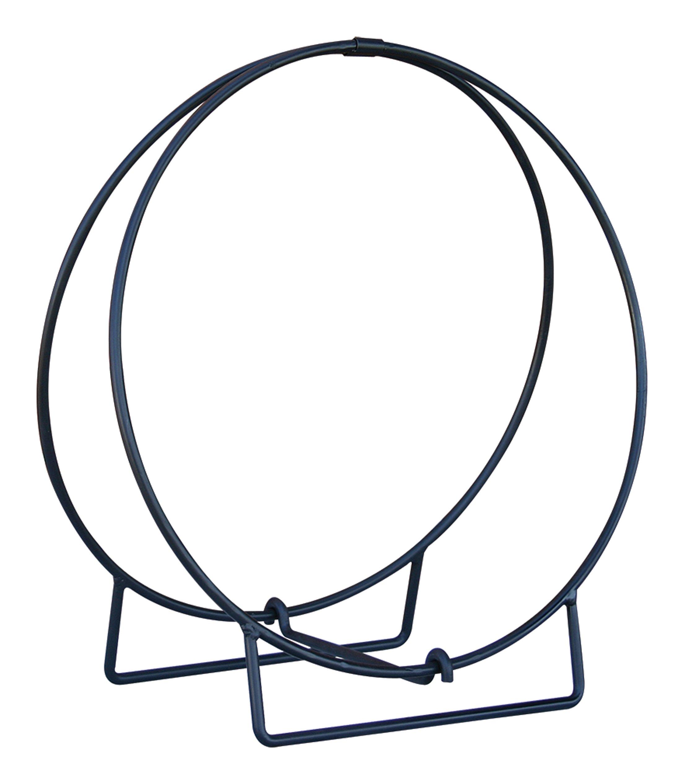 Uniflame Log Hoop with 1/2'' Solid Stock, Black, 36 by Uniflame