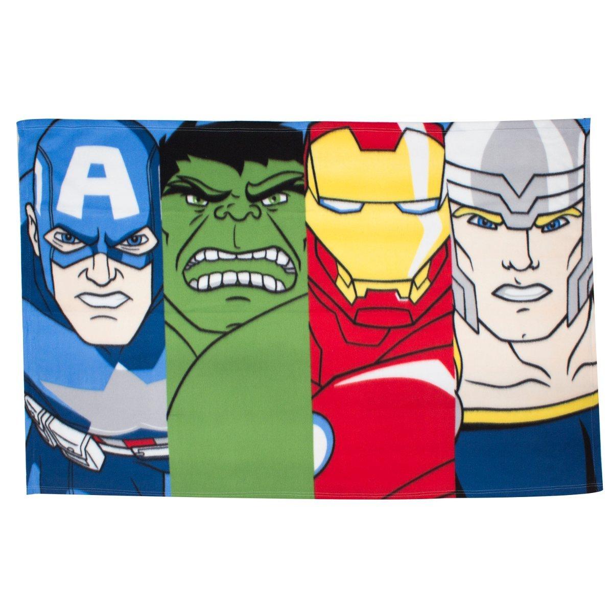 Marvel Avengers Line-up Fleece Blanket charachter world DMALIEFL001UK