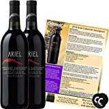 Ariel Cabernet Non-Alcoholic Red Wine Experience Bundle with Chromacast Pop Socket