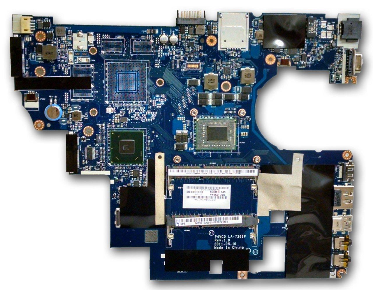 Acer TravelMate 8481 8481T Motherboard i7 2637M MB.V4T02.004 LA-7361P