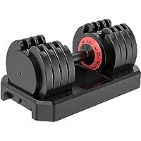 Deals on Famistar 5-Levels 6.6 to 44 lbs Adjustable Dumbbells