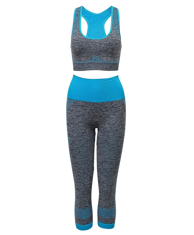 91a0412523b Xintianji Women Yoga Fitness Running Bra+Pants Leggings Set Gym Sports Wear  at Amazon Women s Clothing store