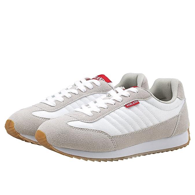 Shenji - Zapatillas Altas Unisex?Zapatillas de Deporte Para Hombre & Mujer M7555 Gris 43 E6N1HeE