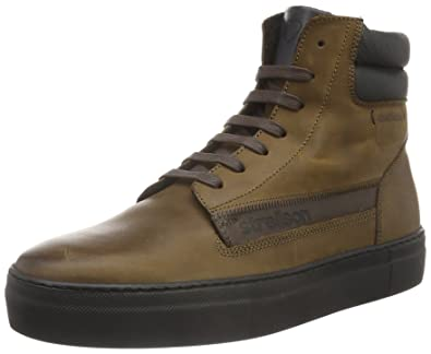 Strellson Herren Erick Hohe Sneakers, Braun (700), 40 EU