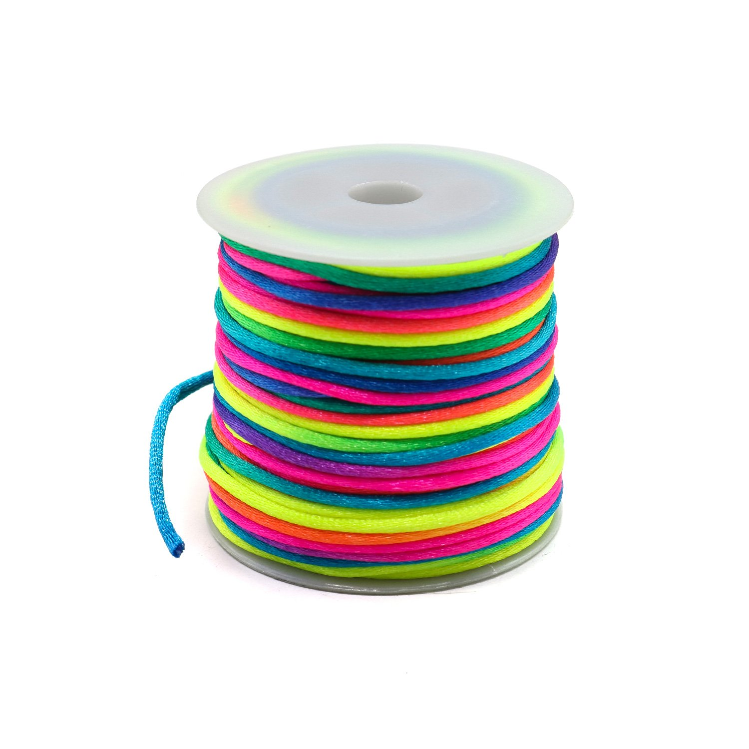 IDS Colorful Rainbow Cord for DIY Bracelet Tie Dye Style 65ft