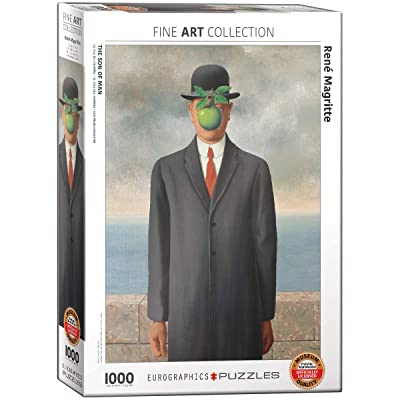 EuroGraphics Son of Man by Rene Magritte 1000-Piece Puzzle: Toys & Games