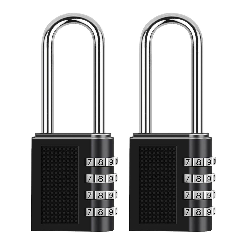 Weatherproof Combination Padlock 50Mm Security Weather Resistant Silverline