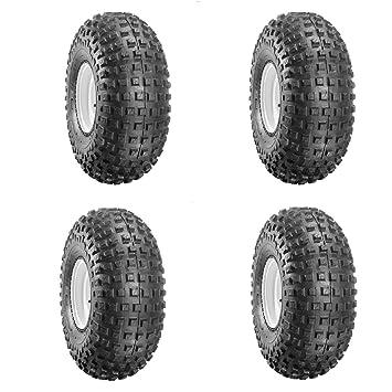 Set von 4/duro145/X 70/x 6/Suzuki LT50/genoppt Reifen