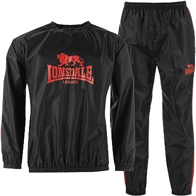 Lonsdale Hombre Heavy Duty Conjunto De Sudadera Y Pantalones De ...