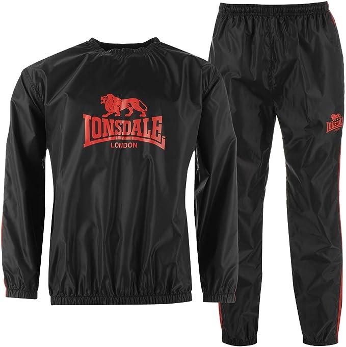 Lonsdale Hombre Conjunto De Sudadera Ligera Y Pantalones De ...