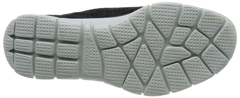 Skechers Sport Women's Empire Sharp Thinking Fashion Sneaker B01M01JWKK 7.5 B(M) US|Black/White
