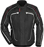 Tourmaster Advanced Women's Textile Motorcycle Jacket (Black, X-Large)