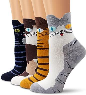 Ambielly calcetines de algodón calcetines térmicos Adulto Unisex Calcetines: Amazon.es: Ropa y accesorios
