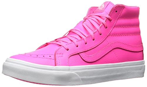 4bb9560a6987ec Vans Sk8-Hi Slim Ankle-High Canvas Skateboarding Shoe  Vans  Amazon ...