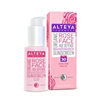 Alteya Organics Rose Face Organic Sunscreen SPF 30 Tinted