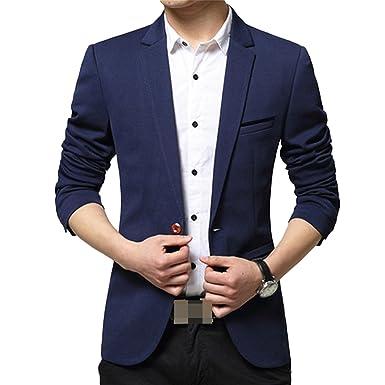 Blazer da Uomo Italily Giacca Elegante Vestito da Uomo Slim Fit Cappotto Giacca Blazer Uomo Giacca Costume Festivo Vestito da Festa Top Outwear Casual