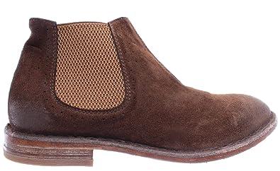 47cdaffa632f53 MOMA 35803-Y2 Crosta Tabacco Chaussures Femmes Cuir Marron Vintage Hand Made  ITA