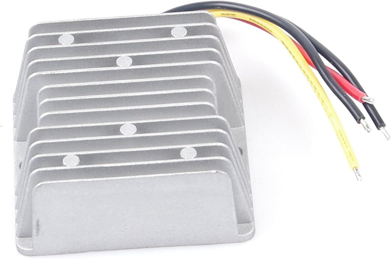 to 5V 20A 100W Step-Down Voltage Transformer Volt Regulator Power Supply Inverter Module Waterproof 9-36V KNACRO DC-DC Buck Converter 12V 24V 5V 20A 100W