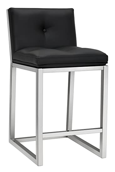 Enjoyable Amazon Com Sunpan Ikon Counter Stools Black Kitchen Dining Unemploymentrelief Wooden Chair Designs For Living Room Unemploymentrelieforg