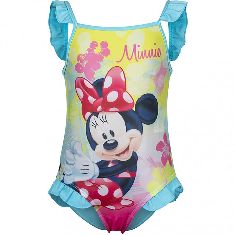Costume da Bagno MINNIE 6 - 9 - 12 - 18 - 24 Mesi Disney Turchese)
