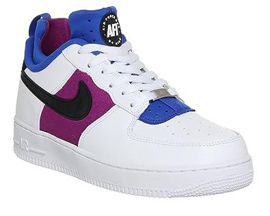 new style fa371 1b8ef Air Force 1 Cmft Huarache - White   Black-lyon Blue-bold Berry, 11 D Us   Amazon.co.uk  Shoes   Bags