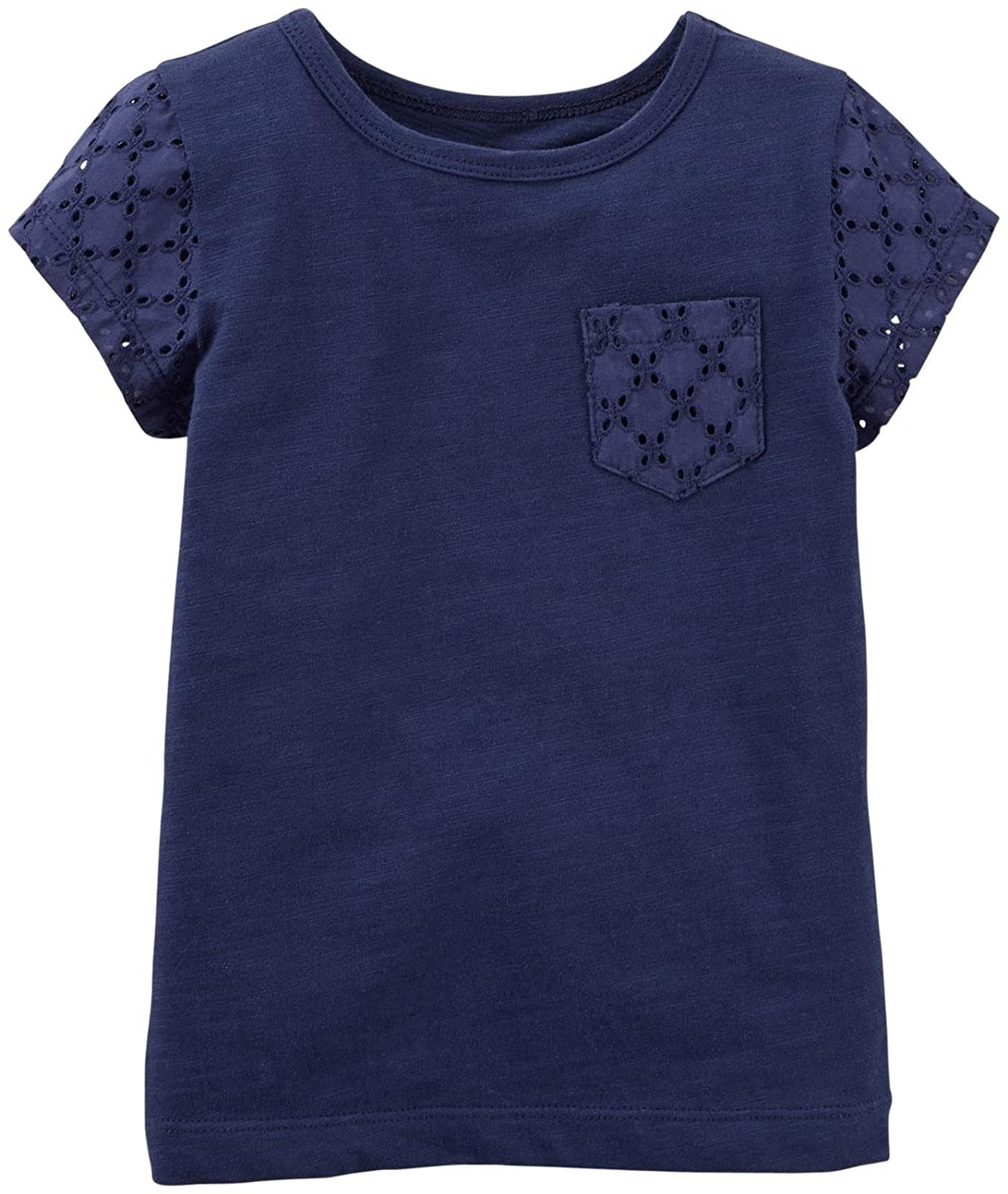 Baby Carters Baby Girls Lace Pocket Tee