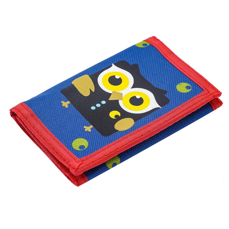 Cute Cartoon Wallet with Zipper for Kids RFID Wallet Cassette Tape