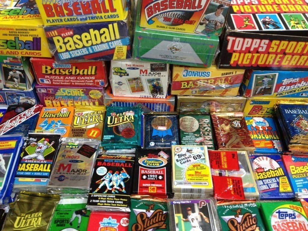 B00B6AFXW8 MLB Baseball (100) Cards in Sealed Wax Packs Topps Donruss Score Upper Deck 71SATn9Cy3L