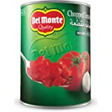 Del Monte Chopped Tomatoes with Garlic - 400 gm