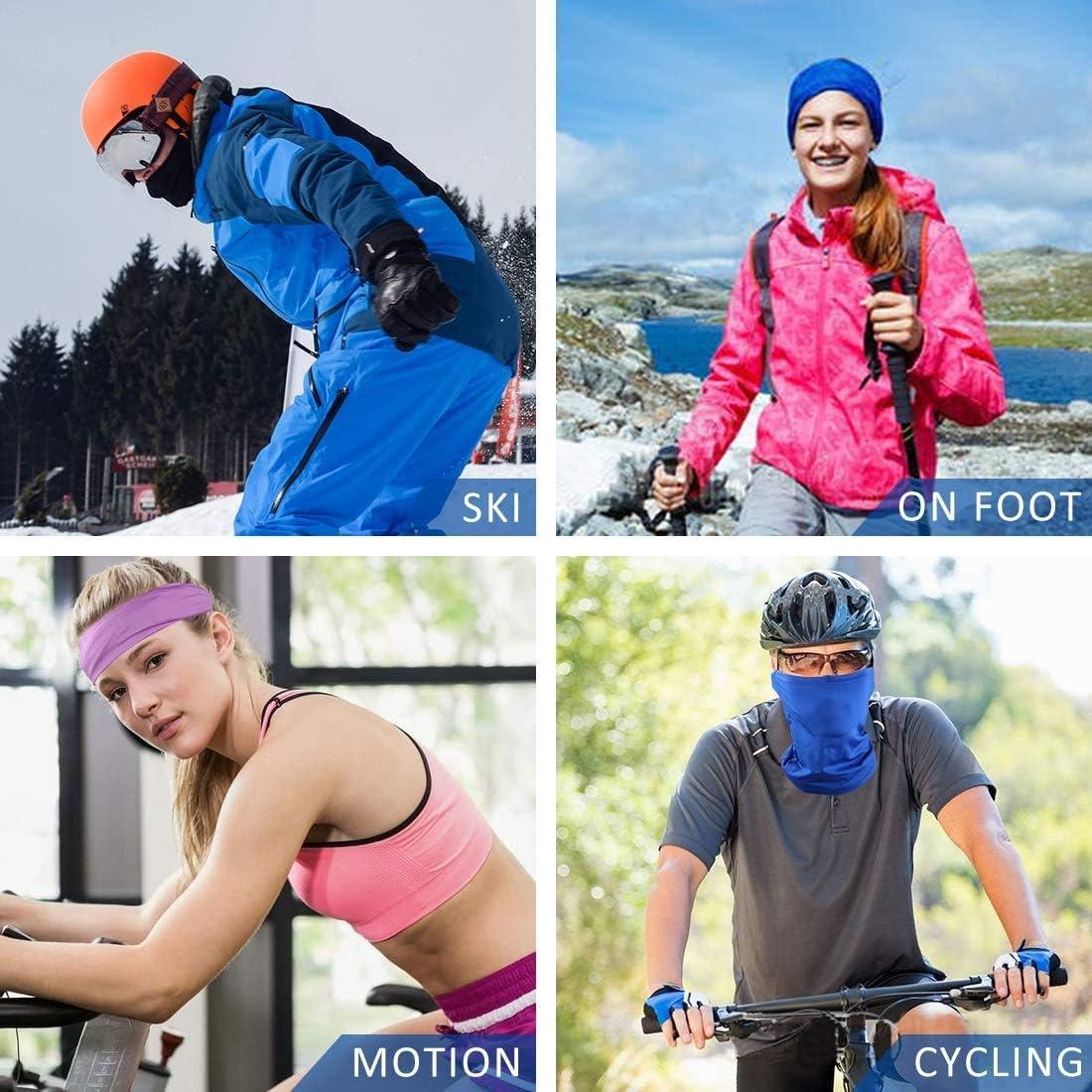 Latocos 6 Piezas Bandana Multiusos Pa/ñuelos Cabeza para Ciclismo Bici Motolista Deporte Aire Libre para Hacer Yoga Senderismo Montar en Moto Protecci/ón UVA y Antiinsectos