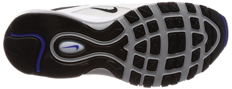 Nike Herren Air Max 97 Sneakers Mehrfarbig (WhiteBlackPersian Violet 103) 44.5 EU