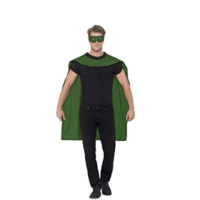 Cape, Green, with Eyemask: Clothing