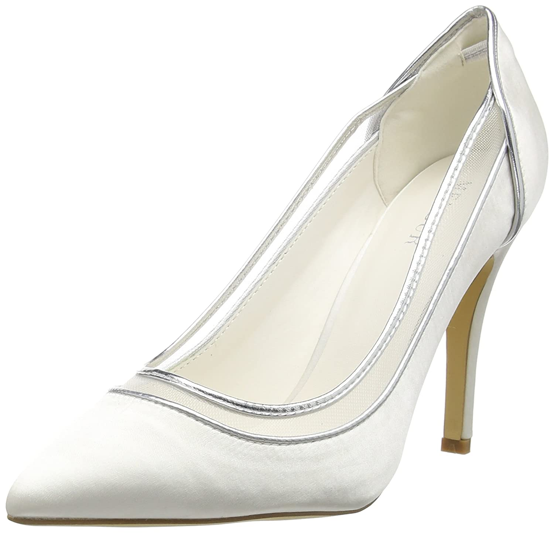 TALLA 37 EU. Menbur Wedding Berenice, Zapatos de tacón con Punta Cerrada para Mujer