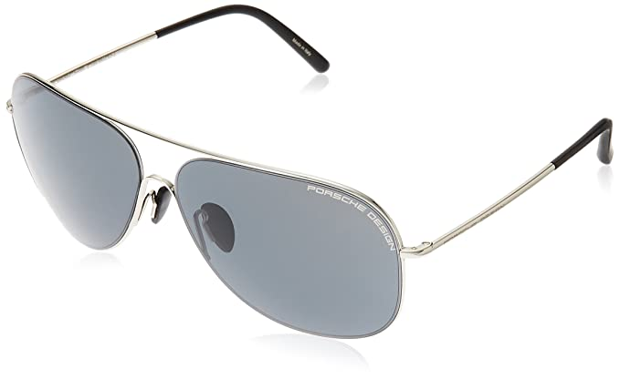163af8dbc1eb Porsche Design P 8605 P8605 C Palladium Aviator Sunglasses 64mm ...