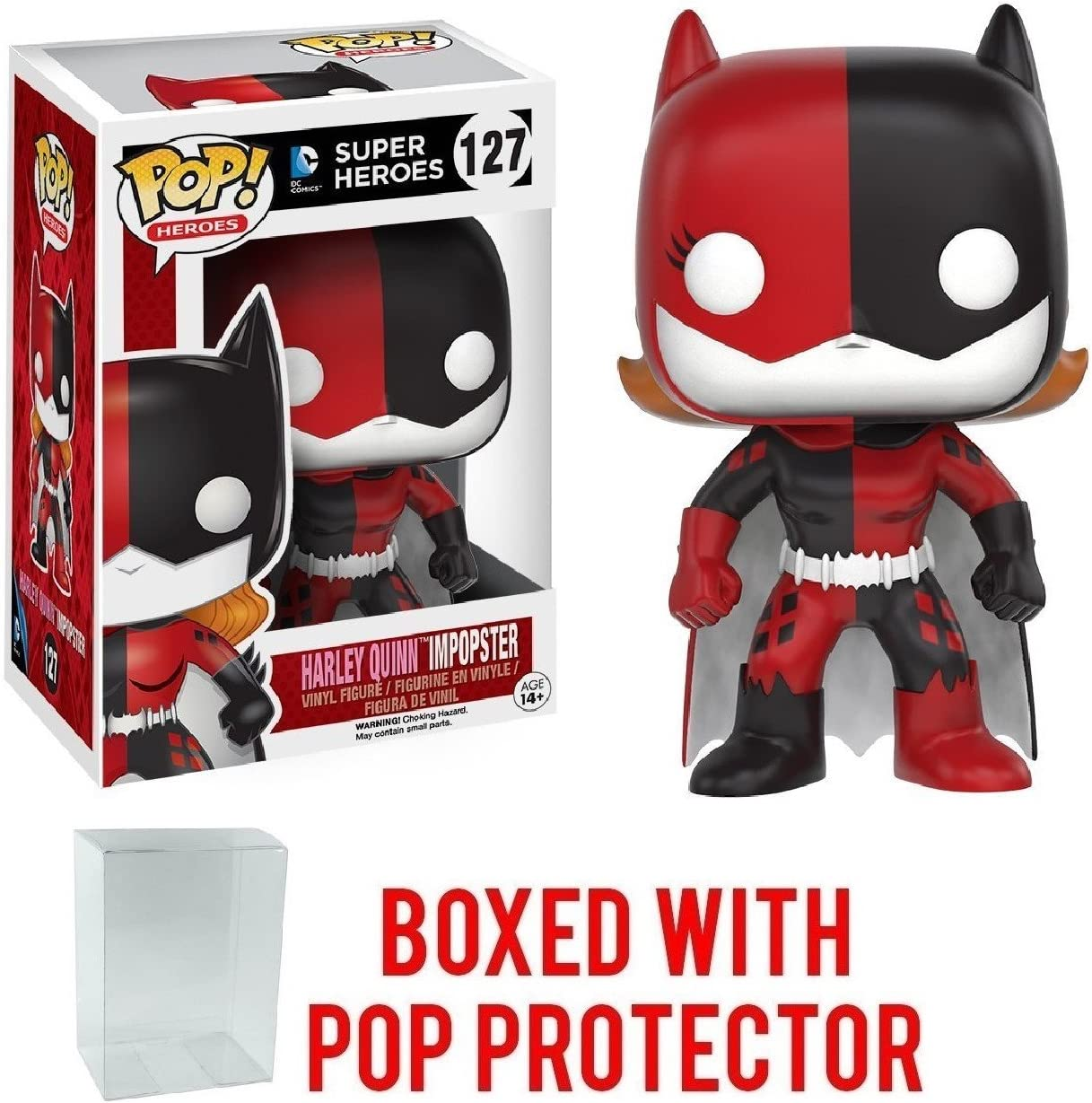 Batgirl//Harley Vinyl Action Figure New In Box ImPOPster Funko POP Heroes