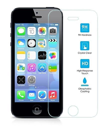 7f3d9122409 Protector de Pantalla para Iphone 5/5S/5C/SE Cristal Vidrio Templado Premium
