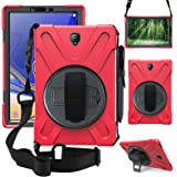 ZenRich Galaxy Tab S4 2018 Case, Tab S4 10.5 Case with S Pen Holder Stand Hand Strap and Shoulder Belt, zenrich…
