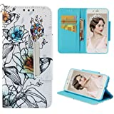 Badalink iPhone 8 Plus Case Wallet, iPhone 7 Plus