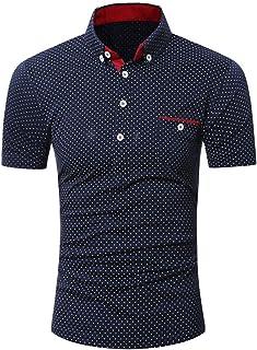 Chemises Homme Chemises BoutonnéEs Chemises Cartonnees Grande Taille Chemise à Manches Courtes Occasionnels pour Hommes HCFKJ - MS
