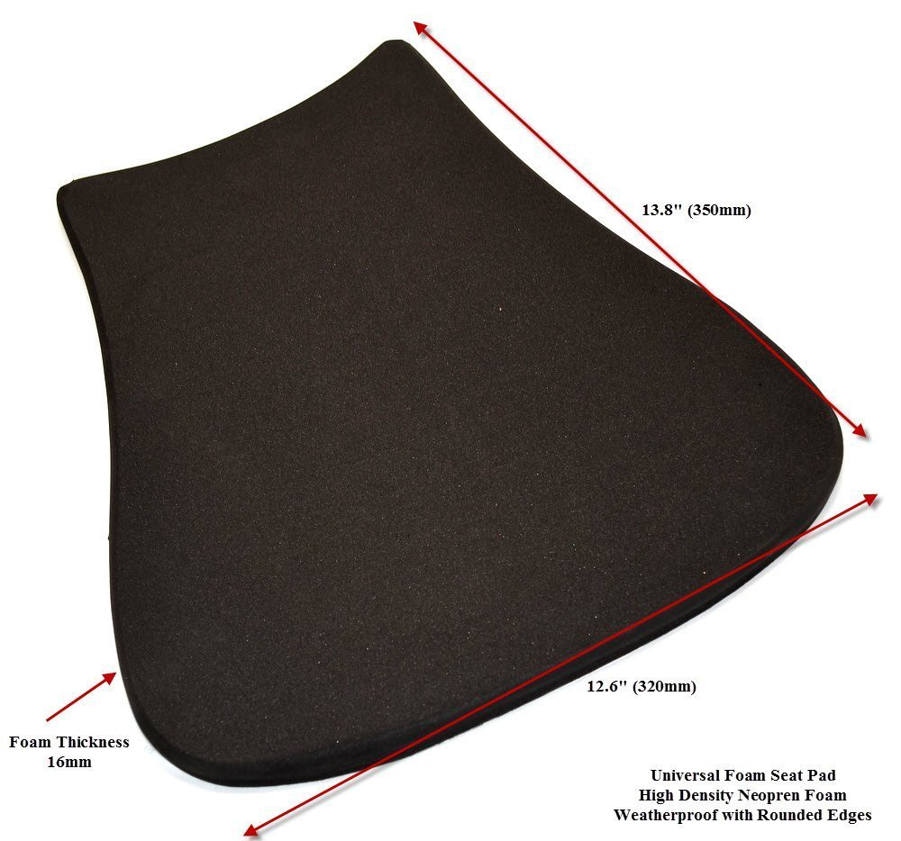 Amazon.com: Universal Racing Motorcycle Seat Pad for Race Track Use ...